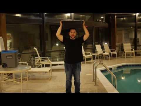 magician ice bucket challenge